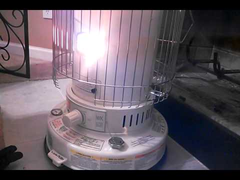 Red Stone Kerosene Heater Review Youtube