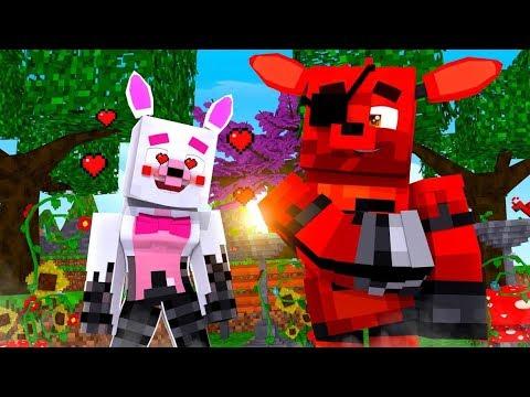 Minecraft Fnaf Daycare: Rockstar Foxy is a girl?!