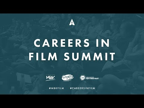 Careers In Film Summit 2017   Live Stream  Live Careers