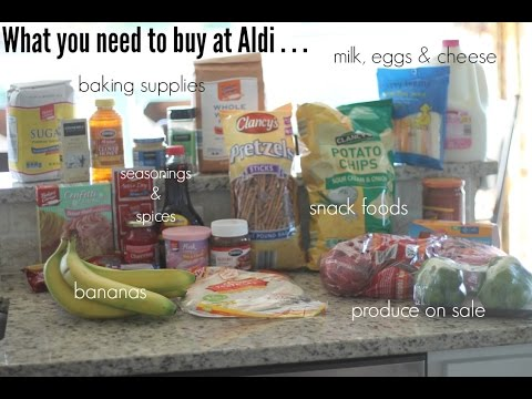 20 Items You Need To Buy At Aldi (And What You Should Never Buy While You're There Too . . . )