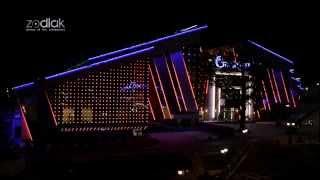 Архитектурно  Художественная подсветка ОКЦ Галактика(Общественно-культурный центр