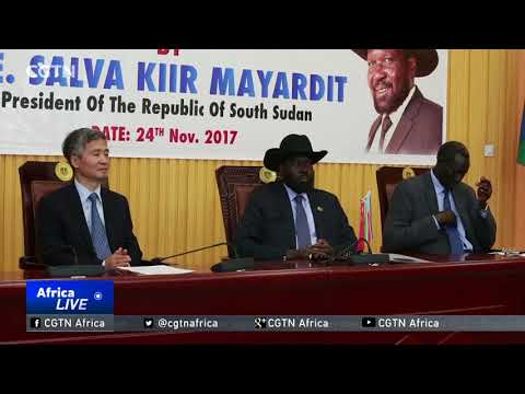 China donates conference center to South Sudan