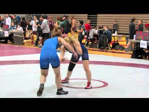 2012 McMaster Invitational: 55 kg Victoria Day vs. Emma Crouch