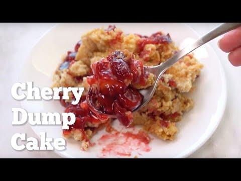 How to make: Cherry Dump Cake