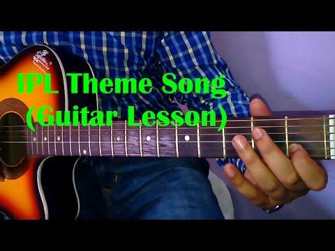 Learn Guitar- IPL Ringtone Guitar Tabs- Guitar Lead Tutorial- VGuitarLearning
