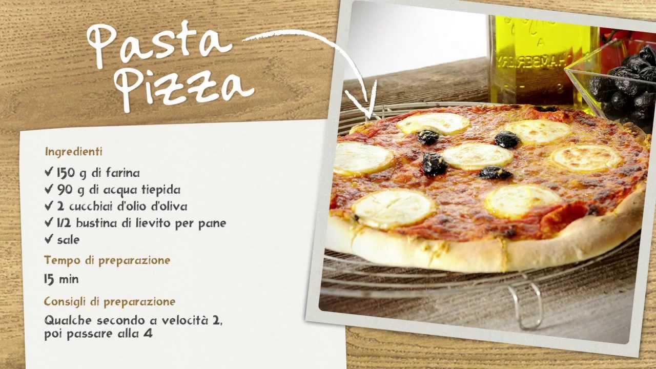 masterchef gourmet moulinex limpasto della pizza youtube