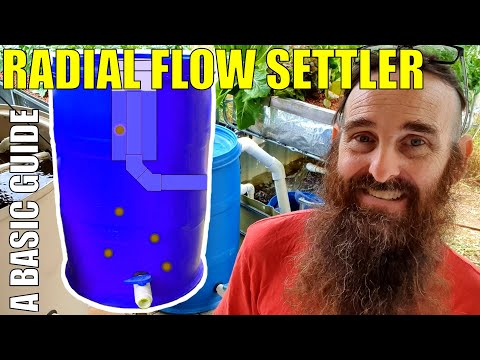 Radial Flow Settler for Aquaponics Systems | How RFS work – How to Size Your RFS