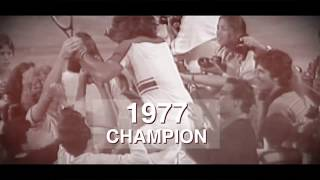 US Open Tennis 50 for 50: Guillermo Vilas, 1977 Men's Singles Champion