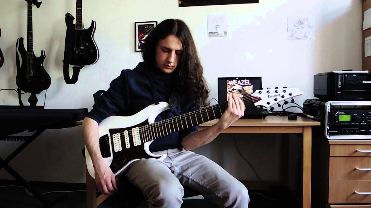 misha mansoor tosin abasi pessimist guitar cover youtube