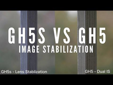 GH5s vs GH5 - Image Stablization. Lens Stabilization vs IBIS