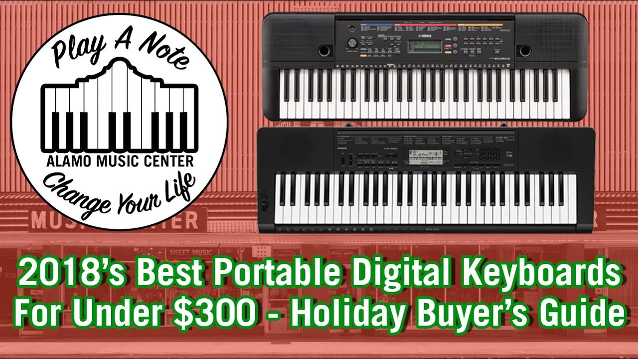 2018s Best Portable Digital Keyboards For Under 300 Holiday Buyers Guide And Comparison