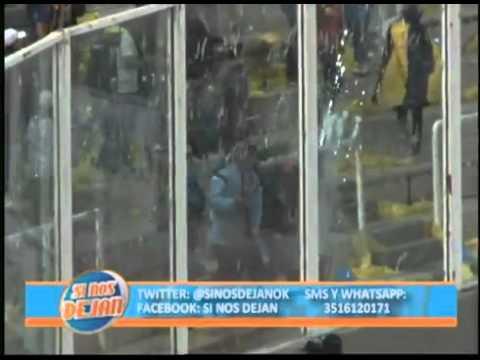 Así destrozaron los barras de Central el estadio Mario Kempes