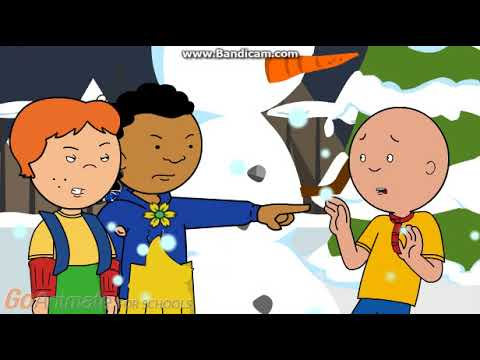 Caillou Fights his Fri...