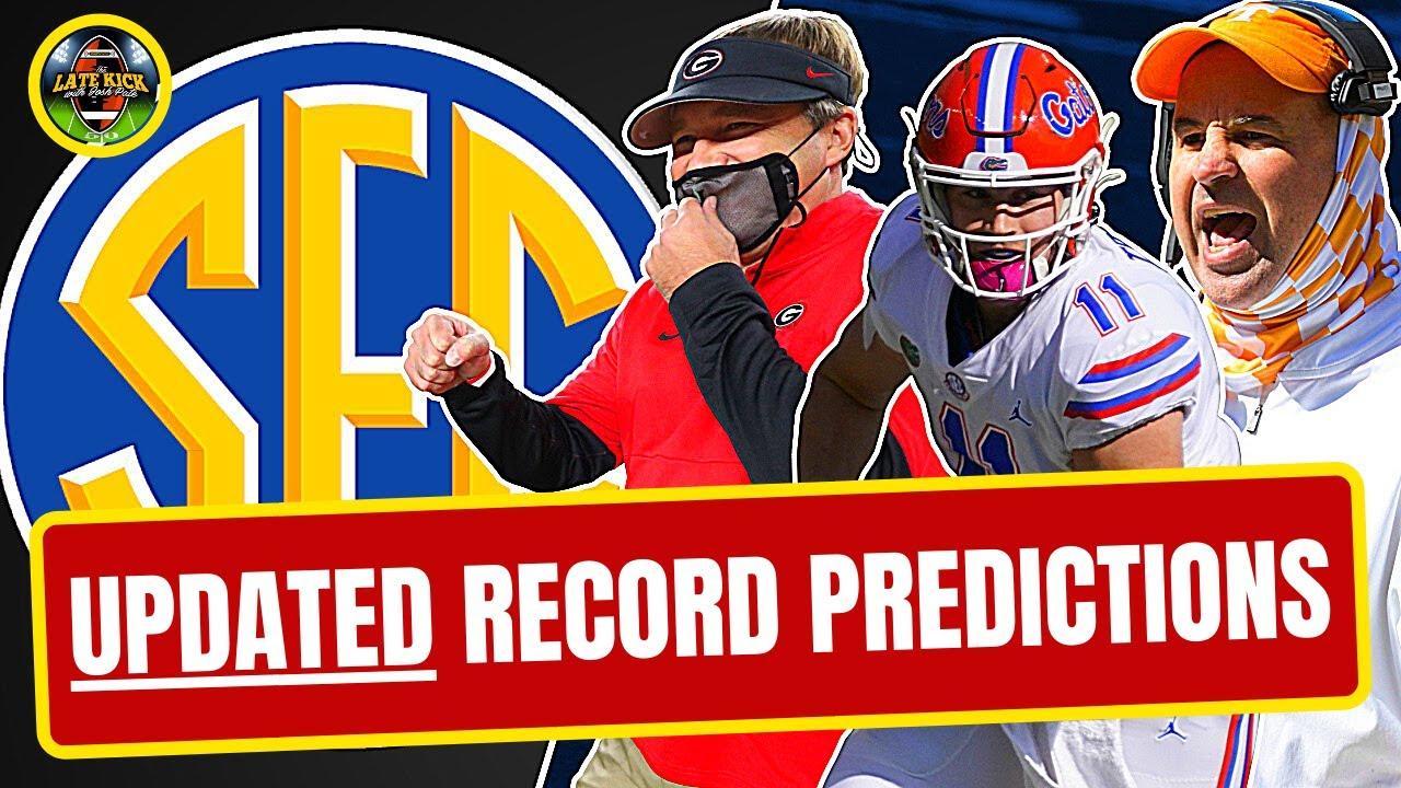 SEC East - *UPDATED* Record Predictions (Late Kick Cut)