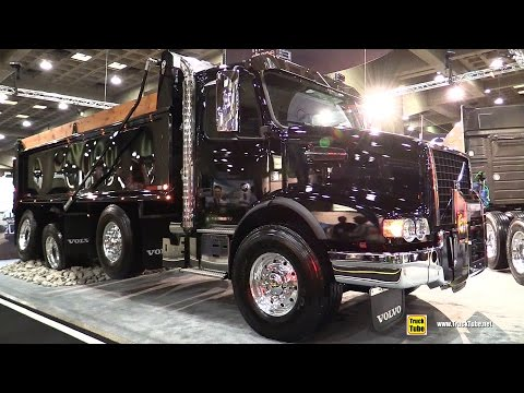 2017 Volvo VHD84B 200 Self Unloader with D13 455hp Engine - Walkaround - 2017 Expocam Montreal