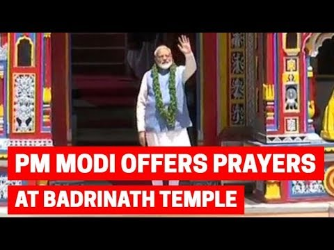 Lok Sabha election 2019: PM Modi offers prayers at Badrinath temple