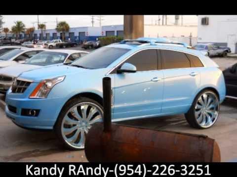 "Kandy Randy- Outrageous Cadillac SRX on 28"" Forgiatos ..."