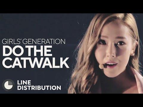 GIRLS' GENERATION - Do the Catwalk (Line Distribution)
