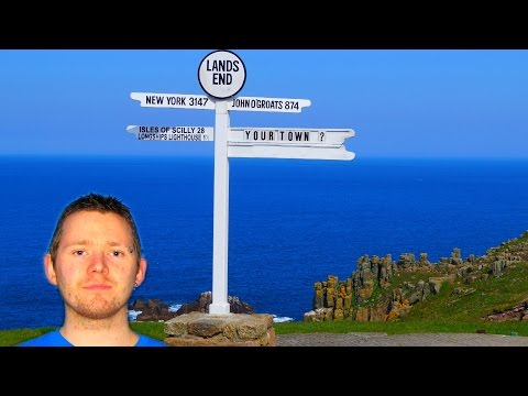 Frazer Langford - Walking from Lands End to John o'Groats Diary
