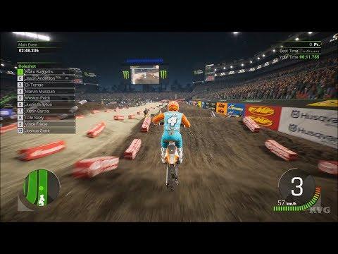 Monster Energy Supercross 2 - Tampa (Raymond James Stadium) - Florida Gameplay HD