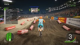 Monster Energy Supercross 2 - Tampa (Raymond James Stadium) - Florida Gameplay HD