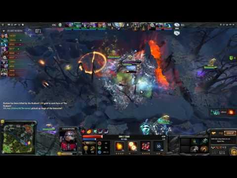 EG vs OG WIN   Blue vs Green   Boston MAJOR Dota 2