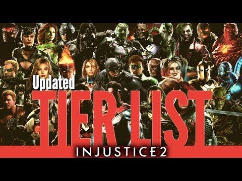 Injustice 2 Full Character Tier List with HoneyBee & Biohazard!