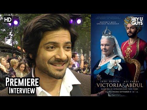 Ali Fazal - Victoria and Abdul Premiere Interview