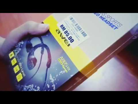 UNBOXING WIRELESS HEADSET!how To Open It Again?! (AWEI A885BL/LowYat/Malaysia)