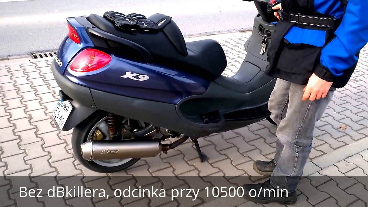 sprzedam piaggio x9 125 v max 128km h youtube. Black Bedroom Furniture Sets. Home Design Ideas
