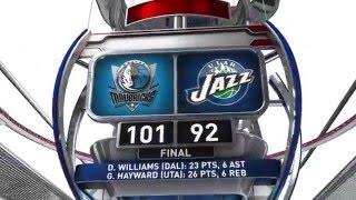 Dallas Mavericks vs Utah Jazz - April 11, 2016
