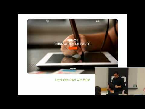 """""""UX Design & Marketing Tactics""""  - Shopify - Harley Finkelstein [COMMERCISM 2014]"""