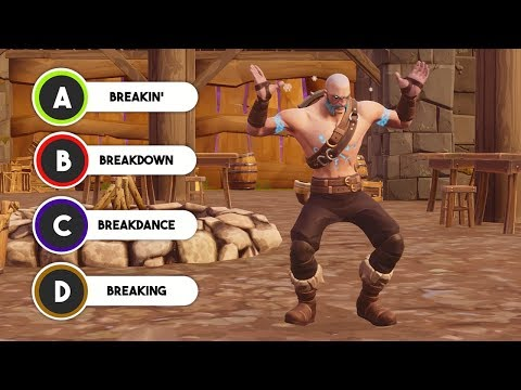 Guess The Fortnite Dance (Season 5)