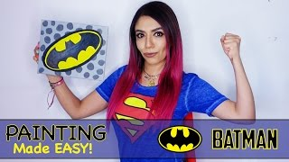 Painting Made Easy 01 - BATMAN