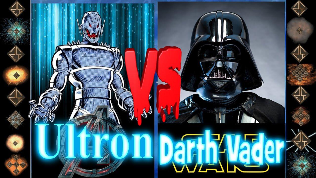 4084fcf7c Ultron (Marvel Comics) vs Darth Vader (Star Wars) - Ultimate Mugen Fight  2016