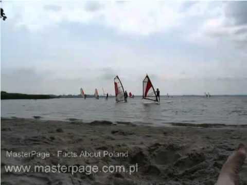 Baltic Sea Coast - Fresh water beach for vacation holidays at Dabki Poland