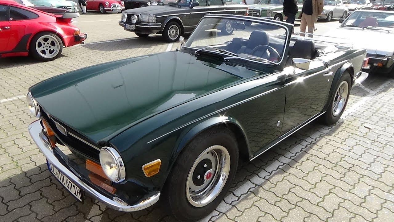 1968 1976 Triumph Tr6 Exterior And Interior Hamburg Motor