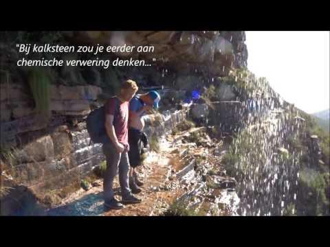 Beklimming van de Tafelberg (Kaapstad)