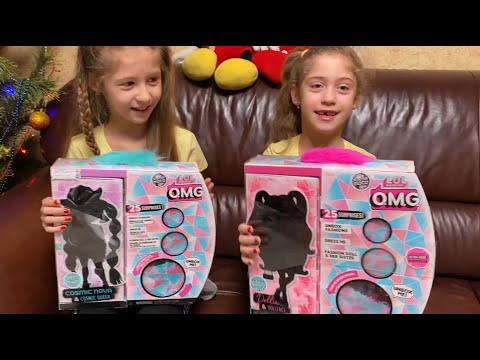 Подарки на Рождество 🎅🎁🎄Куклы L.O.L. Surprise, серии O.M.G. Winter Disco - Dollie, Cosmic Nova.