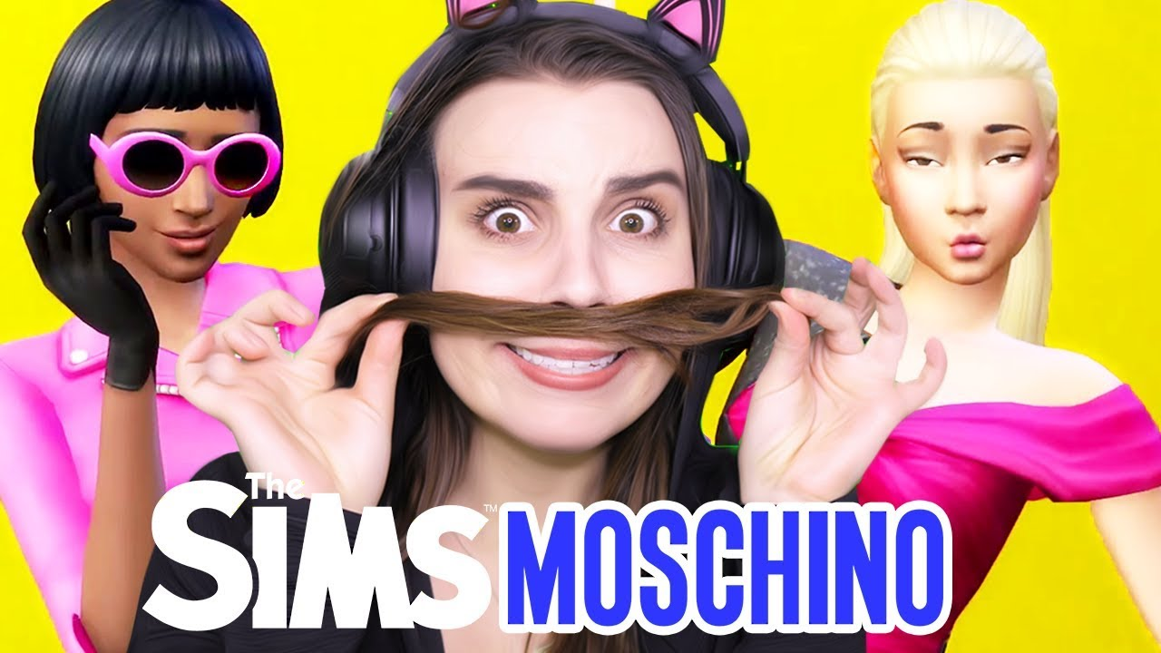 The Sims 4 Moschino Stuff Pack    trailer reaction!