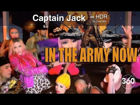 Over ³⁶⁰ : In the Army Now ⁴ᴷ Captain Jack