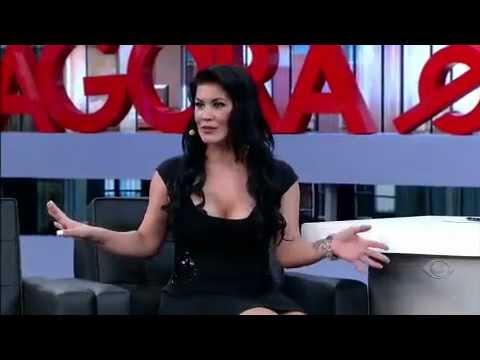 Danilo Gentili entrevista Bruna Ferraz