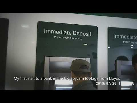Spy cam footage quality 1080P,  raw image, footage from Lloyds, Woolwich arsenal, London