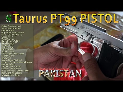 Cleaning the gun 🔫: Taurus PT99 9MM PISTOL 🔫IN STAINLESS STEEL