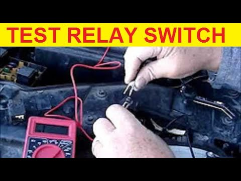 how to test fuel pump relay switch
