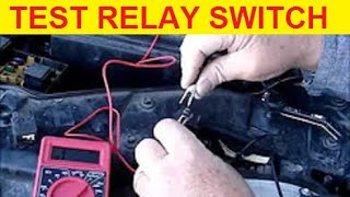 How To Test Ford Taurus Fuel Pump Relay Switch