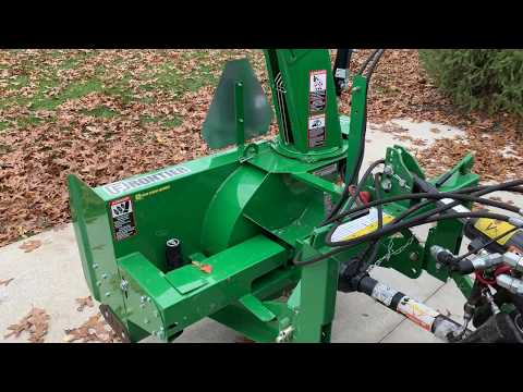 Frontier SB1154 Snowblower With Hydraulic Options