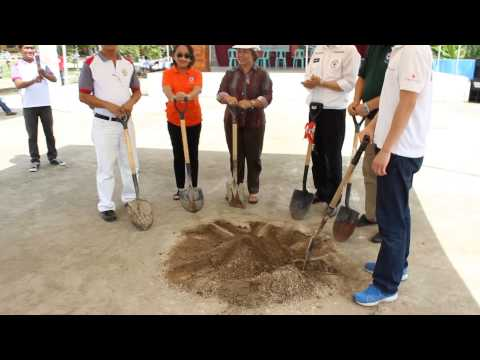 Ground Breaking Ceremony - Korean Red Cross and Philippine Red Cross