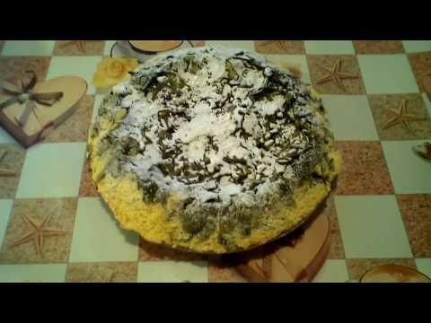 Ленивый пирог со щавелем. Весенний  рецепт. #суфикс