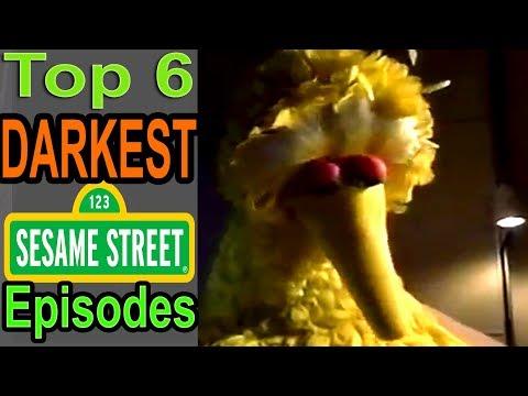 Top 6 Darkest Sesame Street Episodes (ft  BlameitonJorge